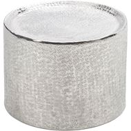 MASON side table d40cm nickel