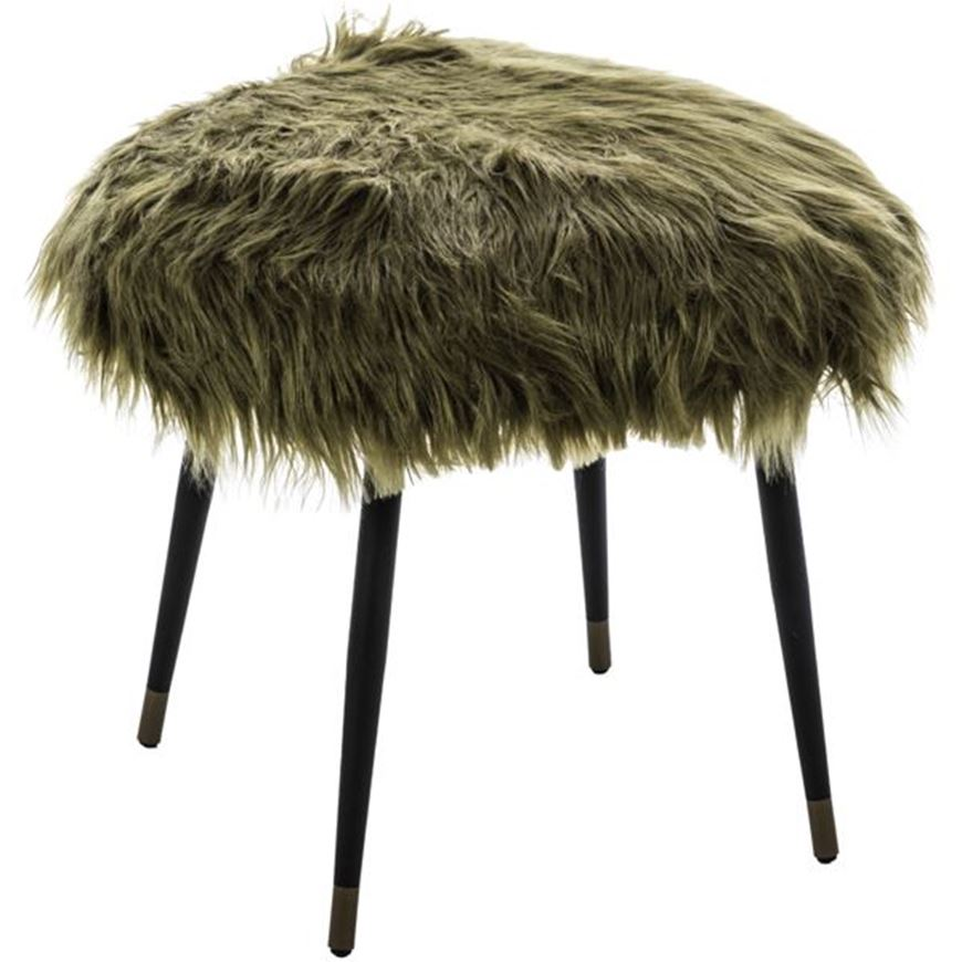 Picture of JERMA stool 57x57 green